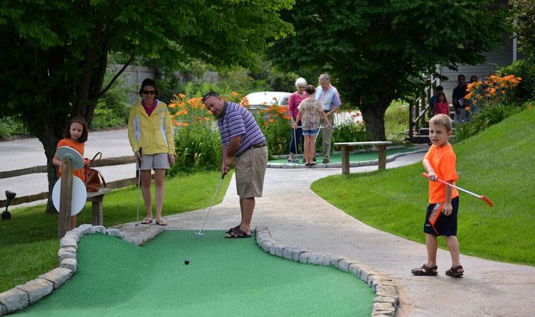 Miniature golf course in Wells, Maine