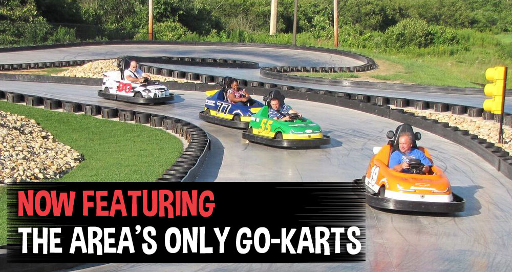 go-kart track in Wells, Maine
