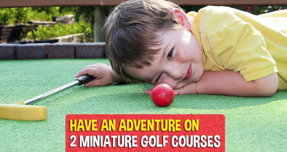 Mini-golf in Wells, Maine