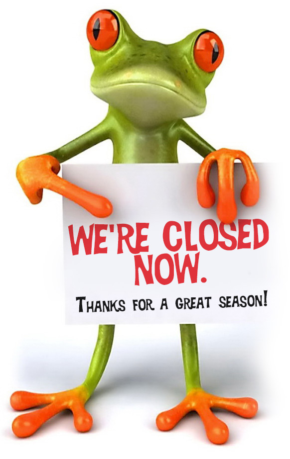 closed for 2019 Season