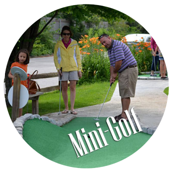 Miniature Golf course in Wells, Maine